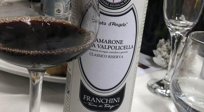 2013 Franchini, Amarone della Valpolicella Classico Riserva Costa d'Angelo, Veneto, Italien