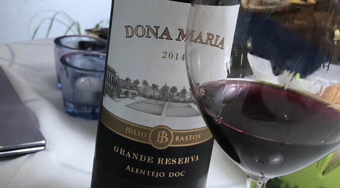 2014 Quinta de Dona Maria, Dona Maria Grande Reserva, Alentejo, Portugal