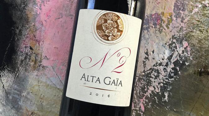 2014 Château Alta Gaïa, N°2 Alta Gaïa Rouge, Bordeaux, Frankrig