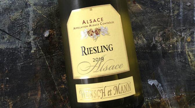 2019 Wunsch et Mann, Riesling, Alsace, Frankrig