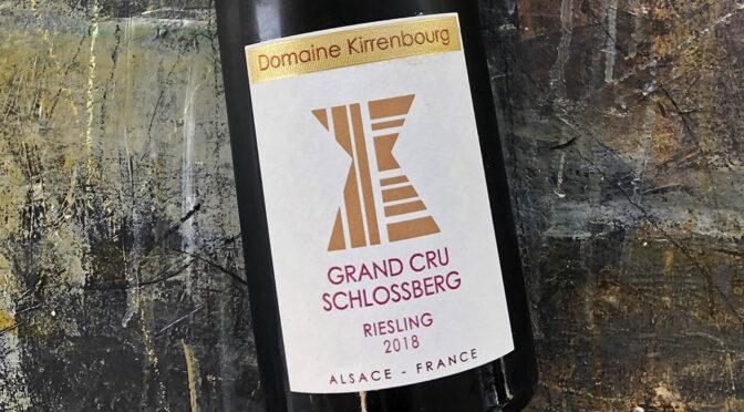 2018 Domaine Kirrenbourg, Riesling Grand Cru Schlossberg, Alsace, Frankrig