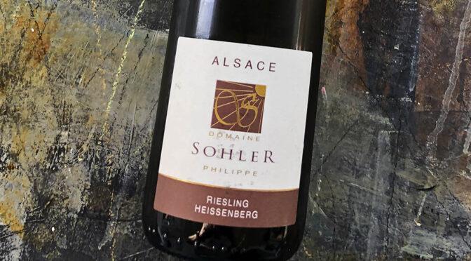 2018 Domaine Philippe Sohler, Riesling Heissenberg, Alsace, Frankrig