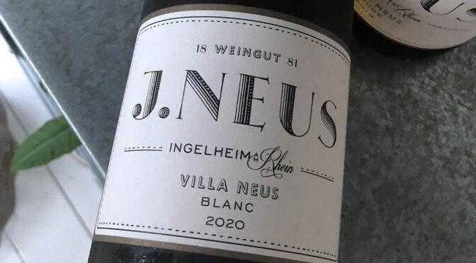 2020 Weingut J. Neus, Villa Neus Blanc, Rheinhessen, Tyskland