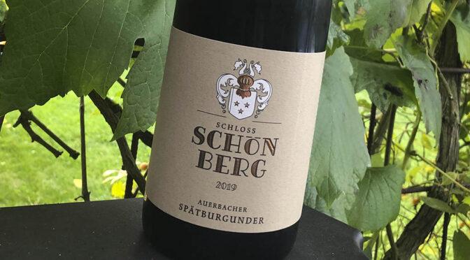 2019 Weingut Schloss Schönberg, Auerbacher Spätburgunder, Hessiche Bergstrasse, Tyskland