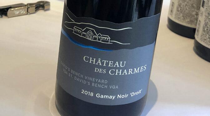 2018 Château des Charmes, Gamay Noir Droit, Ontario, Canada