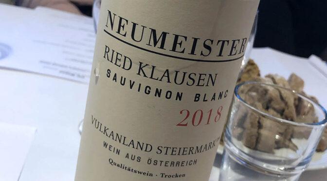 2018 Weingut Neumeister, Sauvignon Blanc Ried Klausen, Steiermark, Østrig