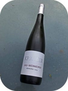 2019 Weingut Krämer, Gau-Weinheimer Riesling, Rheinhessen, Tyskland