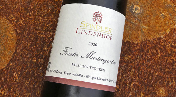 2020 Weingut Spindler Lindenhof, Forster Mariengarten Riesling Trocken, Pfalz, Tyskland
