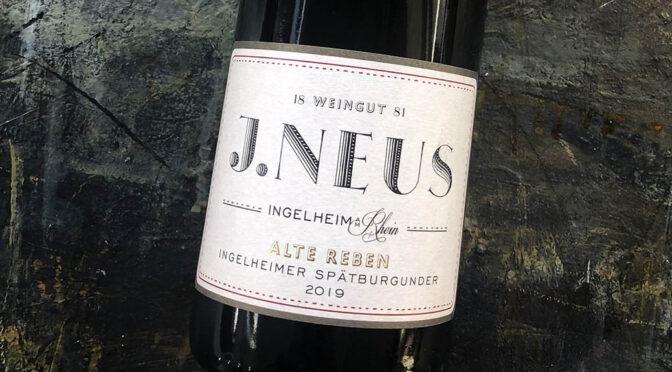 2019 Weingut J. Neus, Ingelheimer Spätburgunder Alte Reben, Rheinhessen, Tyskland