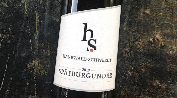 2019 Weingut Hanewald-Schwerdt, Spätburgunder, Pfalz, Tyskland