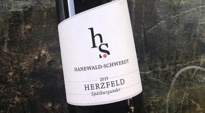2019 Weingut Hanewald-Schwerdt, Leistadter Herzfeld Spätburgunder, Pfalz, Tyskland