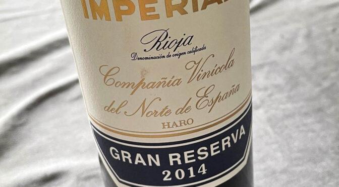 2014 Compañía Vinícola del Norte de España, Contino Gran Reserva, Rioja, Spanien