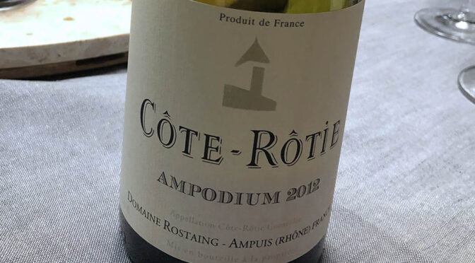 2012 Domaine Rostaing, Côte-Rôtie Ampodium, Rhône, Frankrig