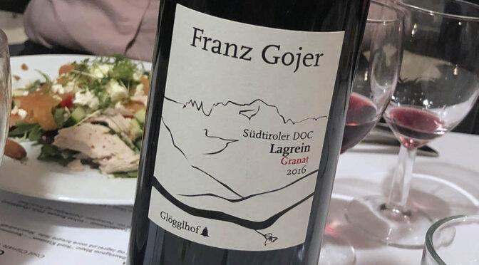 2016 Franz Gojer Glögglhof, Südtiroler Lagrein Granat, Alto Adige, Italien