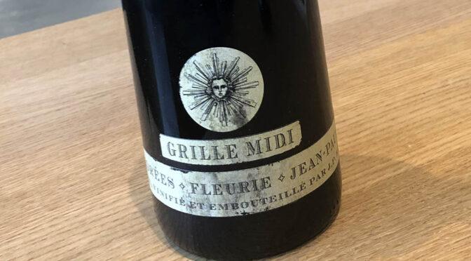 2018 Jean-Paul Brun, Fleurie Grille Midi, Bourgogne, Frankrig